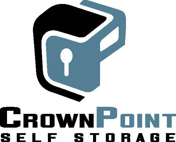 Logo for Crown Point Self Storage, click to go home