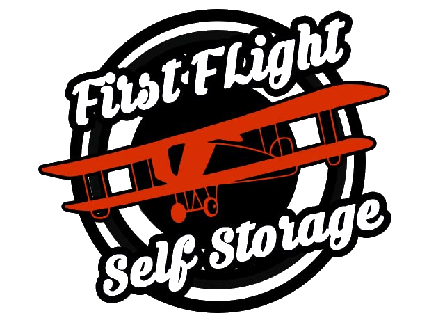 Logo for First Flight Storage, click to go home