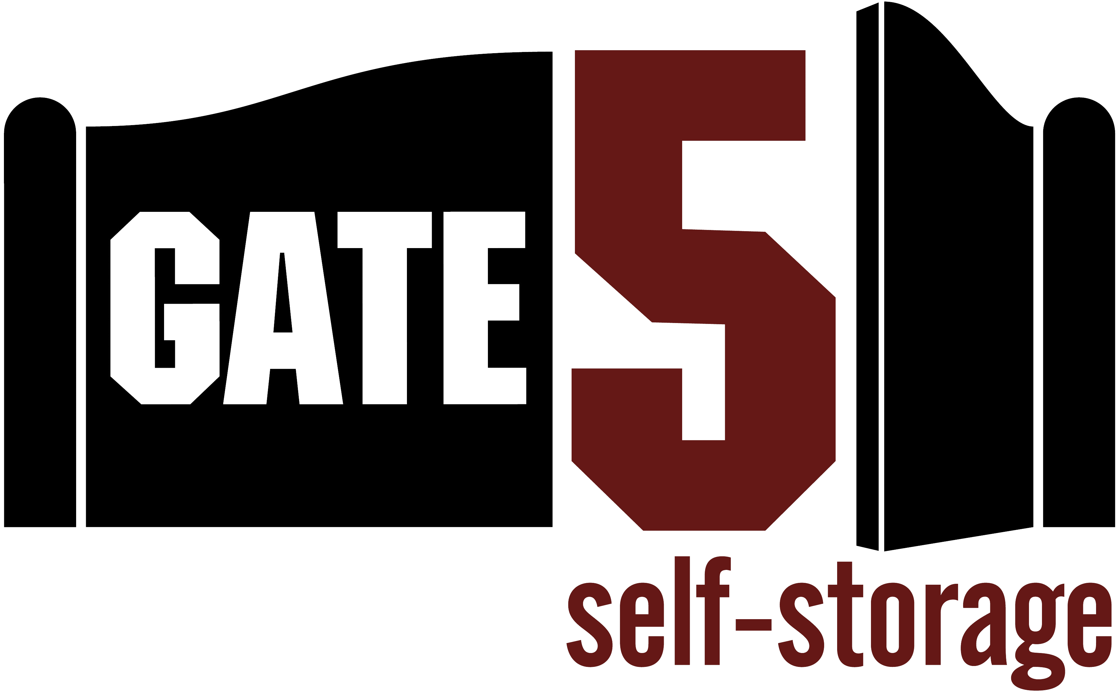 Logo for Gate 5 Self Storage, click to go home