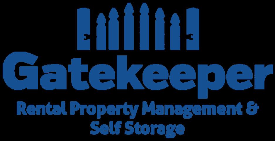 Logo for Gatekeeper Self Storage, click to go home
