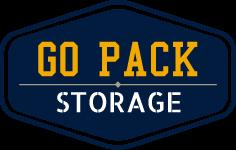 Logo for Go Pack Storage, click to go home