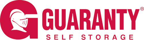 Logo for Guaranty Self Storage, click to go home