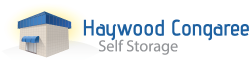 Logo for Haywood Congaree Self Storage, click to go home