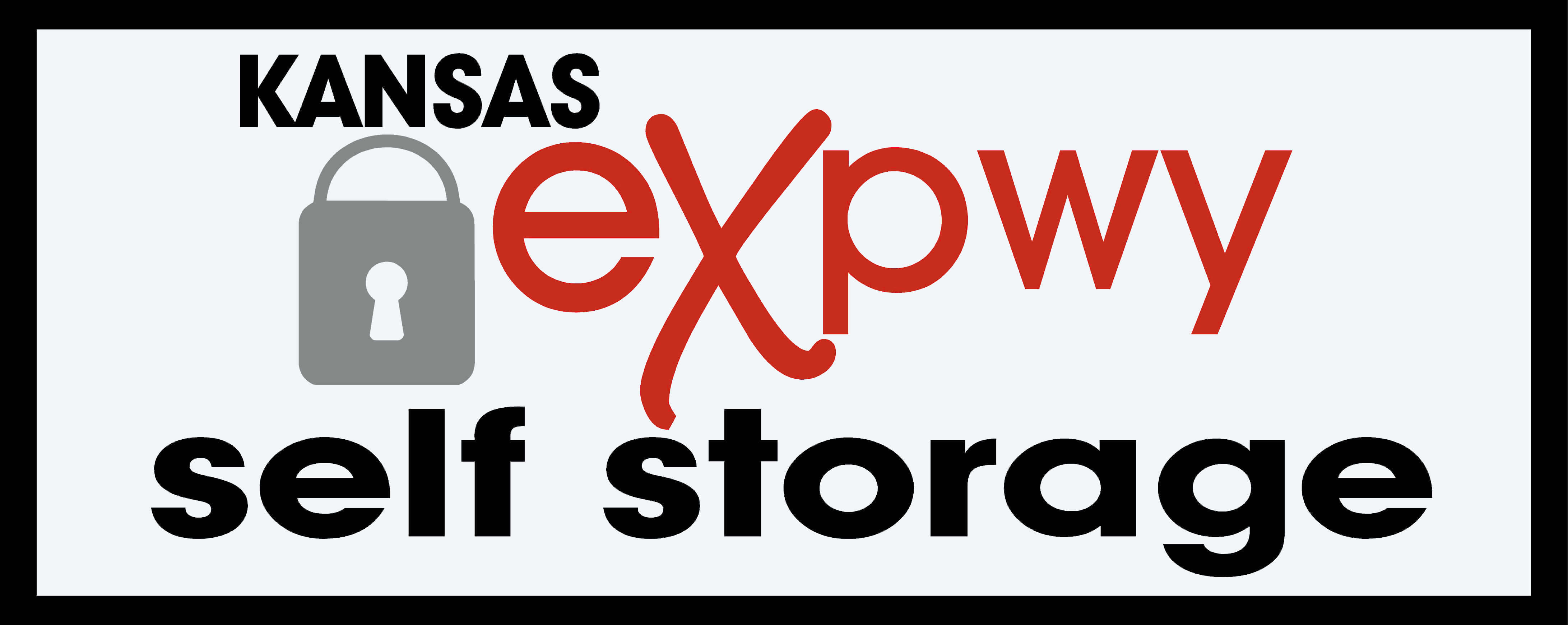 Logo for Kansas Expwy Self Storage, click to go home