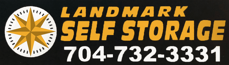 Logo for LandMark Self Storage, click to go home