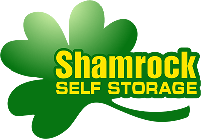 Logo for Shamrock Self Storage, click to go home