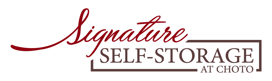 Logo for Signature Self-Storage at Choto, click to go home