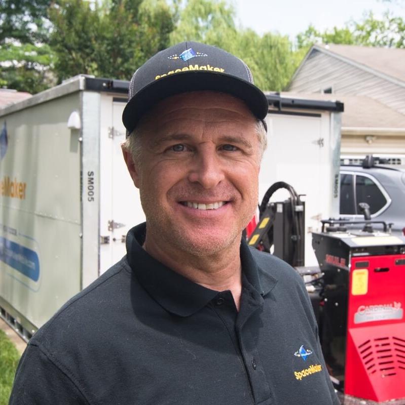 Jim Layton, Owner of SpaceMaker Mobile