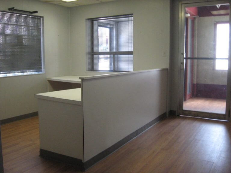 Front Desk of Business Space For Rent