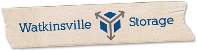 Logo for Watkinsville Storage, click to go home